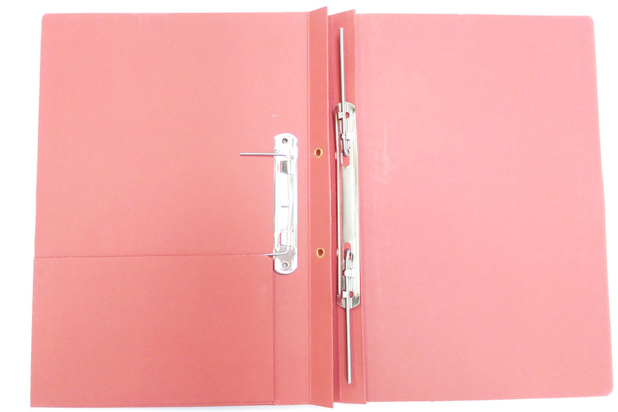 Spring Clip Folders with horizontal tight pocket from ESL