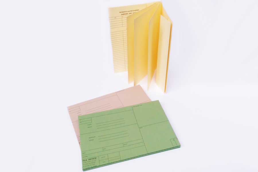 HR File Covers available with drill holes.  Various Colours of board and we also offer Bespoke Printing.