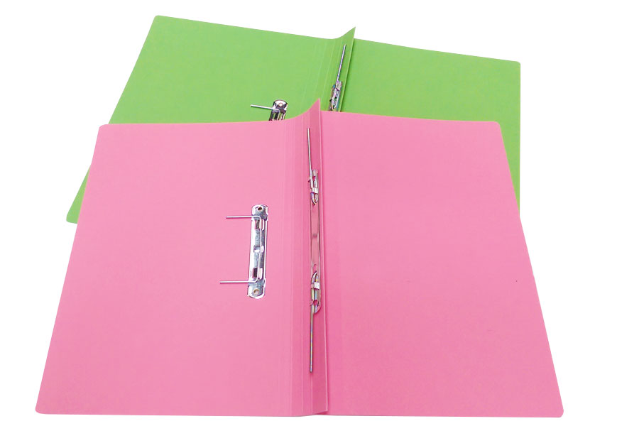 Solicitor Files with Spring Clip mechanisms and horizontal tight pocket from ESL