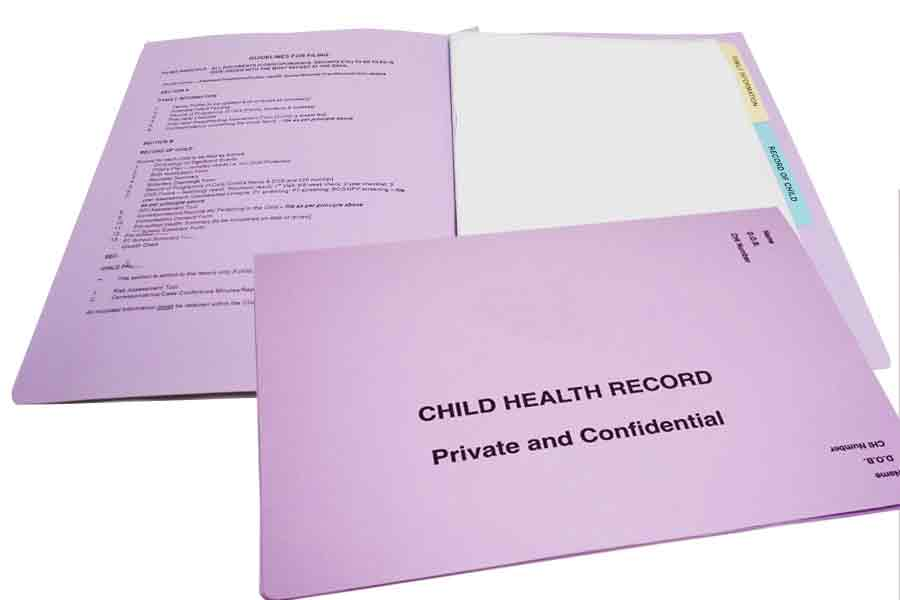 Child Health Records from ESL