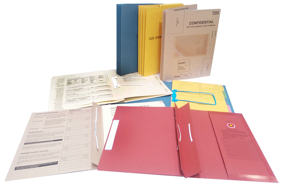 Case Note Medical Folders