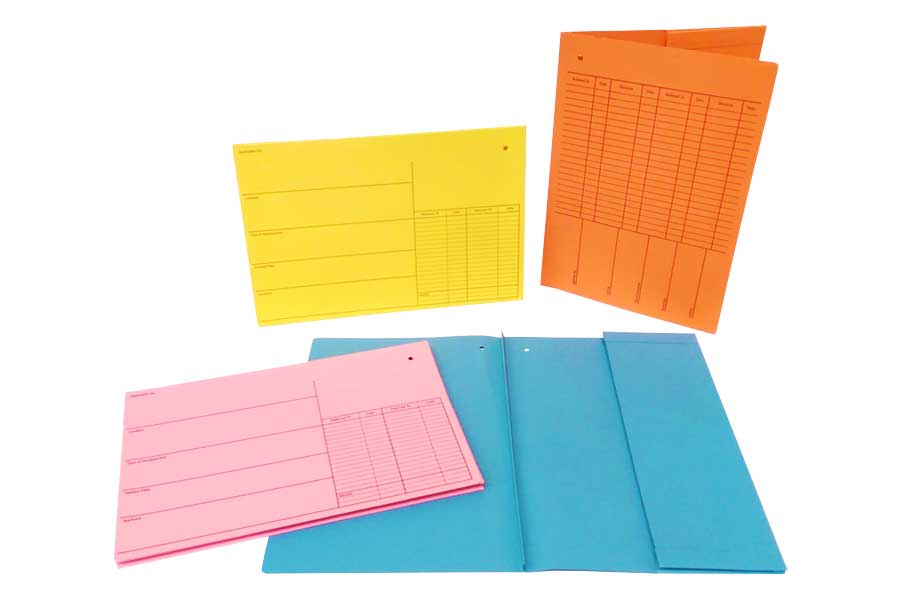 Sample File Cover Collection. Call 028 3832 6718 to discuss your requirements.
