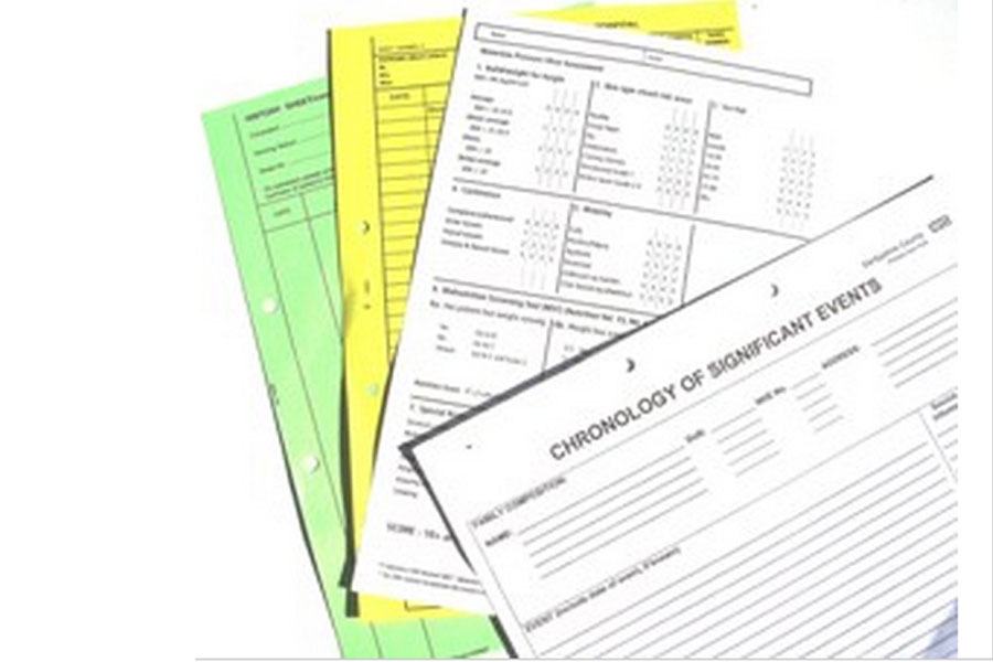 Forms and NCR Pads
