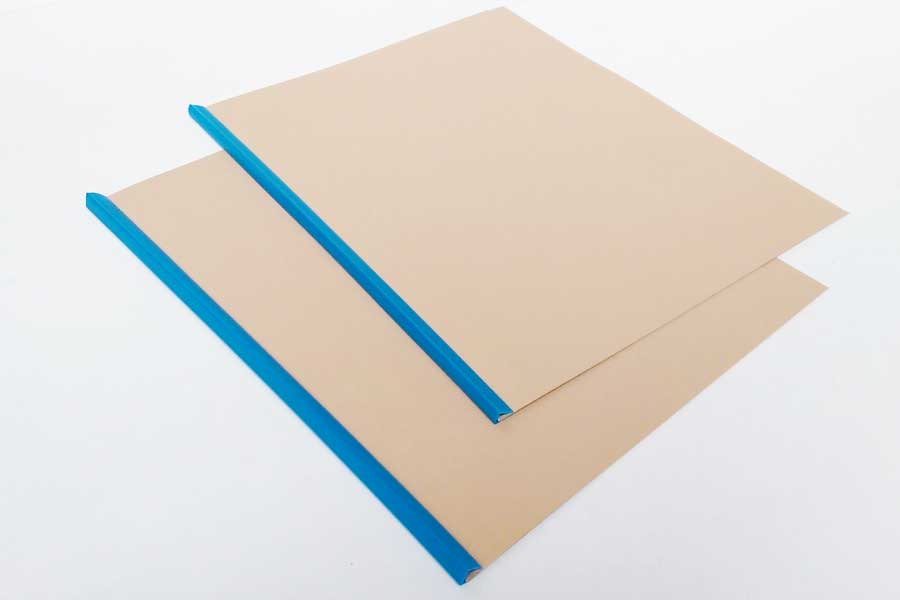 File covers with removeable spine available from ESL.
