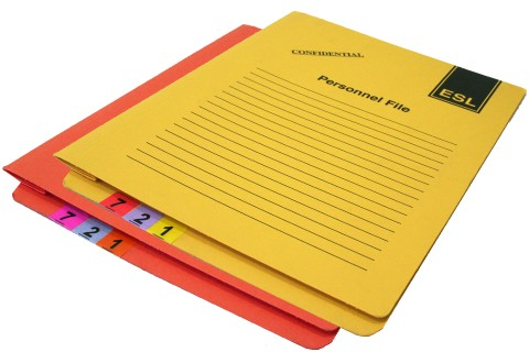 Occupational Health Case Note Folders
