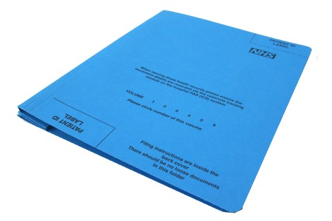 Speech and Language Case Note Folders